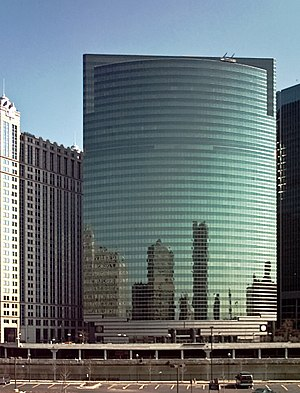 Kohn Pedersen Fox - 333 Wacker Drive, Chicago, Illinois, USA