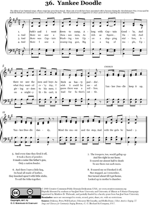 Yankee Doodle - Image: 36 Yankee Doodle