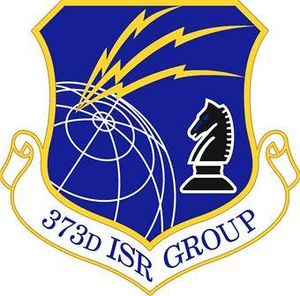 373d Intelligence, Surveillance and Reconnaissance Group - 373d Intelligence, Surveillance and Reconnaissance Group emblem