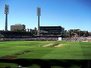 WACA Ground - Image: 3rd Test, Perth, 15Dec 2006