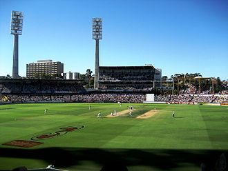 WACA Ground - Image: 3rd Test, Perth, 15Dec 2006