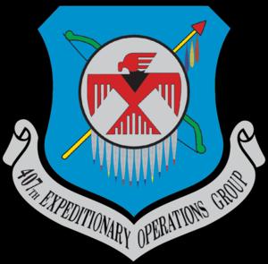 407th Air Expeditionary Group - 407th Air Expeditionary Group emblem
