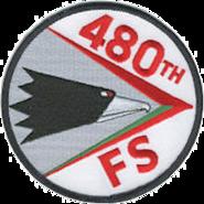 480th Fighter Squadron - Emblem