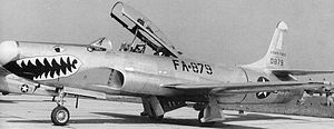 Lockheed F-94 Starfire - 61st Fighter-Interceptor Squadron Lockheed F-94B 50-879