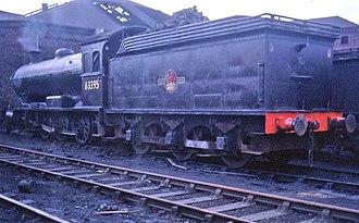 NER Class T2 - Image: 63995 at Sunderland shed
