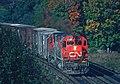 6 Roger Puta Shots of a VIA Train and a CN Train (31226257383).jpg
