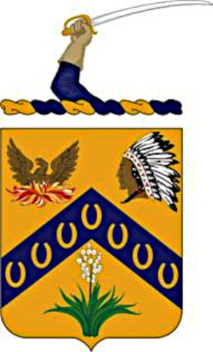 7th Cavalry Regiment - 7th Cavalry coat of arms