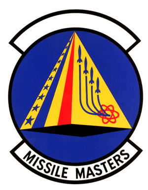 868th Tactical Missile Training Squadron - Image: 868 Tactical Missile Training Sq emblem