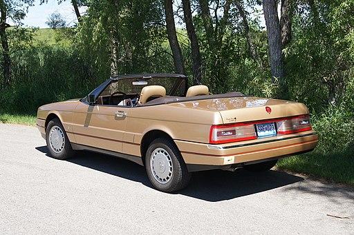 Cadillac Allanté 1987 - Immagine Greg Gjerdingen / Wikimedia