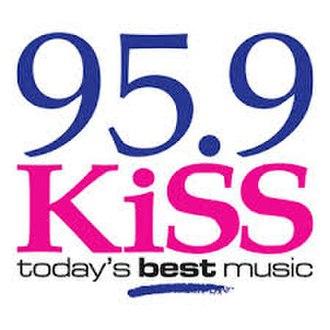 CHFM-FM - Image: 959kissfmlogo