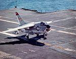 A-7E VA-147 landing on carrier in mid-1970s.jpeg
