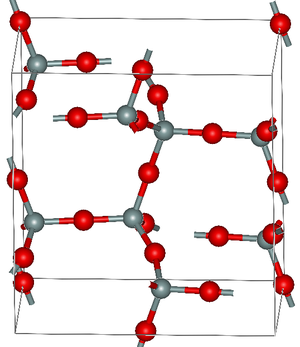 Tridymite - Crystal structure of α-tridymite