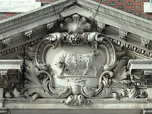 A.D. Club - A.D. Club entryway detail
