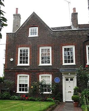 A Shropshire Lad - Byron Cottage in Highgate, where Housman wrote A Shropshire Lad