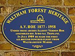 A.V. Roe 1877 - 1958 (Waltham Forest Heritage) 2 of 2 down.jpg