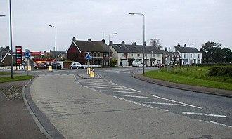 A173 road - A173 Newton Road