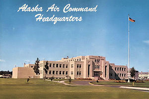 Alaskan Air Command - Alaskan Air Command Headquarters Building, Elmendorf Air Force Base, 1960s