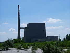 Nuclear power station at Zwentendorf