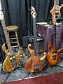 ANSIR Music basses & guitar, 2010 Summer NAMM.jpg
