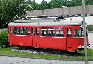 Trams in Aachen
