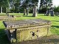 A Georgian Gravestone at Spynie - geograph.org.uk - 1368464.jpg