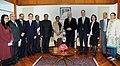 A German Delegation led by the former President of the European Parliament, Dr. Hans-Gert Poettering calls on the Speaker, Lok Sabha, Smt. Meira Kumar, in New Delhi on February 28, 2011.jpg
