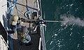 A Sailor fires a .50-caliber machine gun. (6852043777).jpg