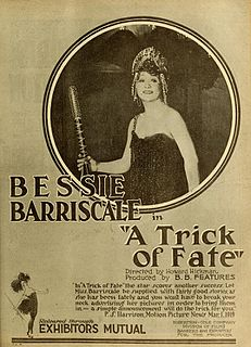 <i>A Trick of Fate</i> 1919 film by Howard Hickman