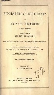 A biographical dictionary of eminent Scotsmen, vol 3.djvu