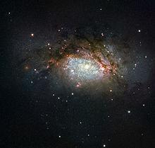 Elliptical galaxy - Wikipedia