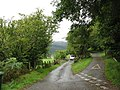 A road junction and two further gates - geograph.org.uk - 542078.jpg