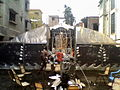 A unique pandal made out of sheet metal during Durga Pooja of 2012 2014-08-24 08-19.jpg