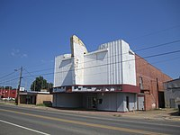 Abandoned Joy Theater On U S Highway 80 In Rayville