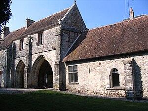Orne - Image: Abbaye Saint Evroult Notre Dame du Bois 2