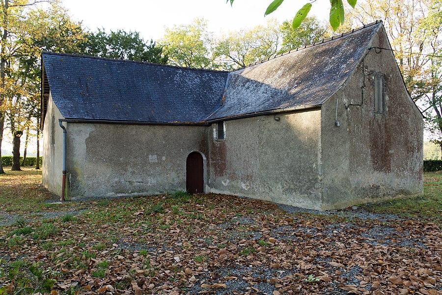 Abside et croisillon sud de la chapelle Saint-Jean-d'Épileur.