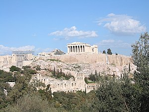 Civilization - Image: Acropolis Athens in 2004
