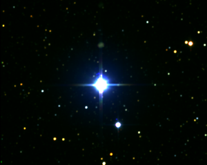 Alpha Crucis - α Crucis with the nearby HD 108250