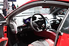 Acura NSX interior -- 2018 North American International Auto Show (26383322027).jpg