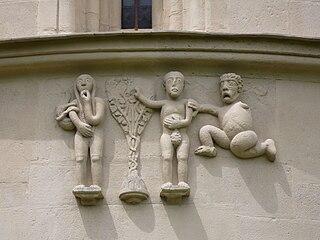 Adam und Eva - Steinerne Bibel (Schöngrabern).jpg
