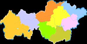 Bijie - Image: Administrative Division Bijie 2