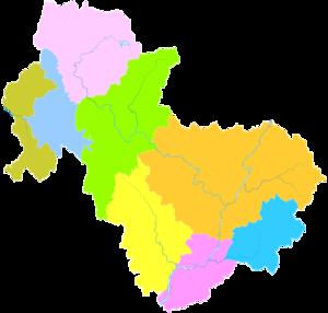 Qingyuan - Image: Administrative Division Qingyuan 2