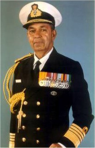 Chairman of the Chiefs of Staff Committee - Image: Admiral Madhvendra Singh