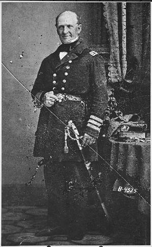 Silas H. Stringham - Admiral Silas H. Stringham