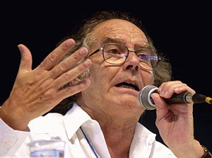 World Social Forum - Image: Adolfo Pérez Esquivel wsf 2003