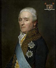 Portrait of Adriaen Pieter Twent, Count of Rosenburg, Minister of Public Works, Minister of the Interior, Chamberlain of King Louis Napoleon