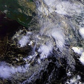 1987 Pacific hurricane season - Image: Adrian 08 jun 1987 1350Z