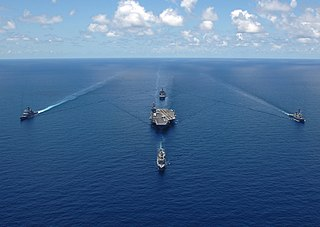 Carrier strike group type of US Navy unit