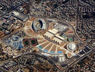 Athens Olympic Sports Complex architectural structure