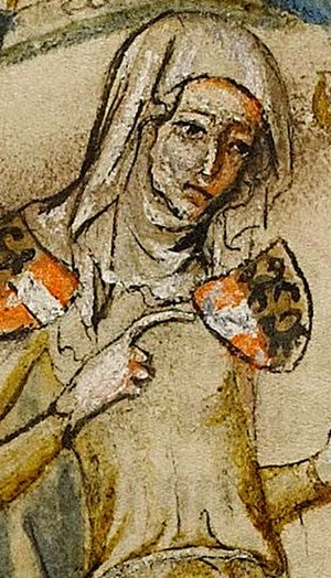 Agnes of Rochlitz - Image: Agnes of Rochlitz (Hedwig Codex)