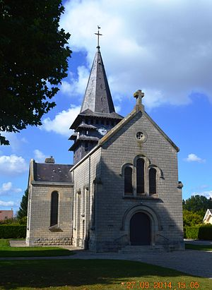 Aguilcourt - Aguilcourt Church